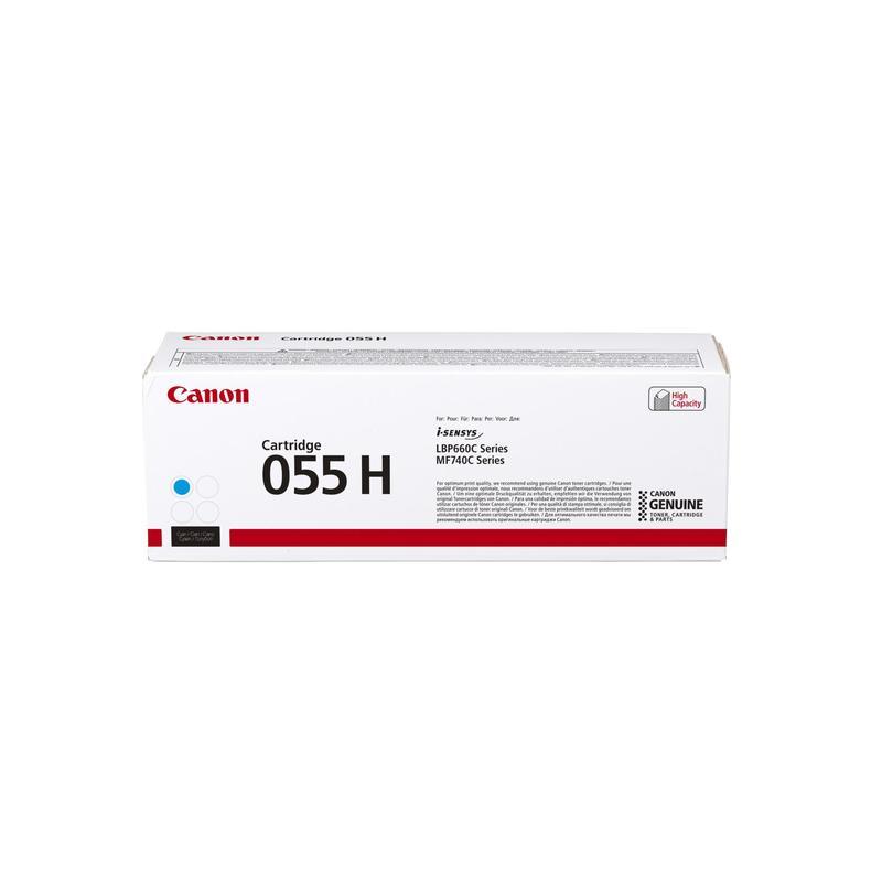 Картридж Canon 055 H C голубой (cyan) 5900 стр. для Canon i-SENSYS MF742/744/746 / LBP664 недорого