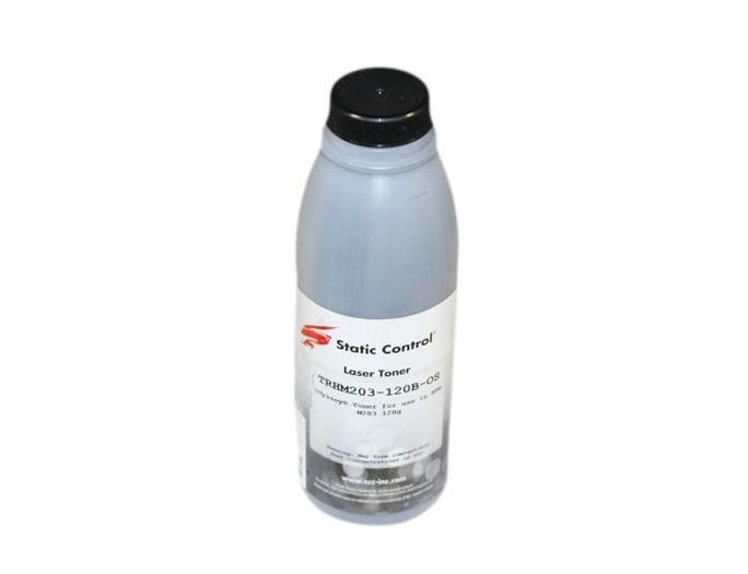 Картинка для Тонер Static Control TRHM203-120B-OS черный (black) 120 гр для HP LaserJet M203/227
