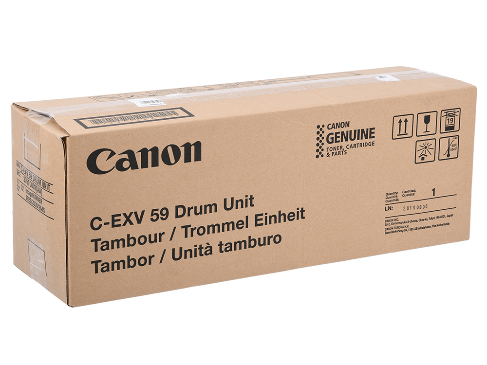 Тонер Canon C-EXV59 черный (black) 30000 стр для Canon imageRUNNER 2625i/2630i/2645i