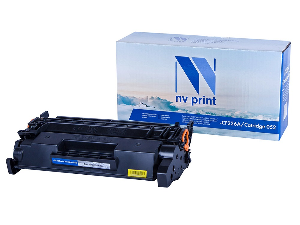 Картридж NV-Print NV-CF226A/NV-052 черный (black) 3100 стр для HP LaserJet Pro M402/426 / i-SENSYS LBP212/214/215 / MF421/426 nv print для hp cb436a