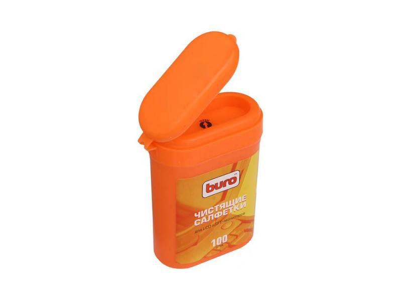 влажные салфетки buro bu tsurl 100 шт Влажные салфетки BURO BU-tft 100 шт
