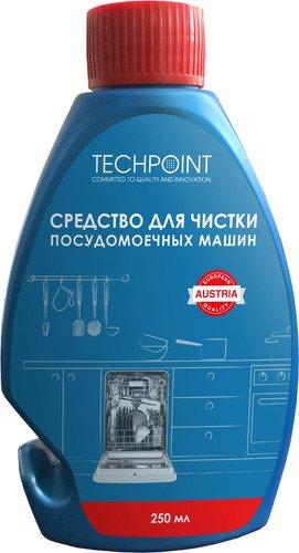 Фото - Чистящее средство Techpoint 250 мл (9998) для посудомоечных машин соль очищенная для посудомоечных машин clean