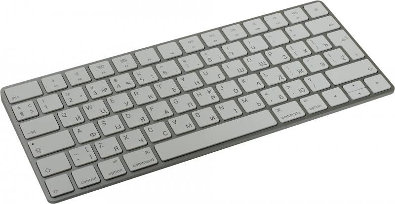 Клавиатура Apple MLA22RU/A Bluetooth серый apple mj262z a