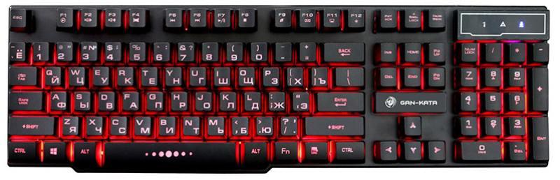 Клавиатура Dialog Gan-Kata KGK-15U Black USB проводная, мембранная