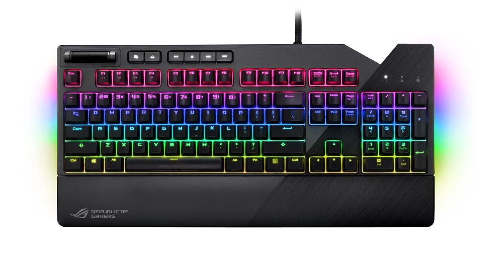 Клавиатура ASUS ROG Strix Flare Black USB проводная