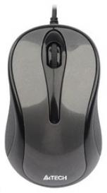лучшая цена Мышь A4-Tech N-360-1 USB (GLOSS.GRAY)