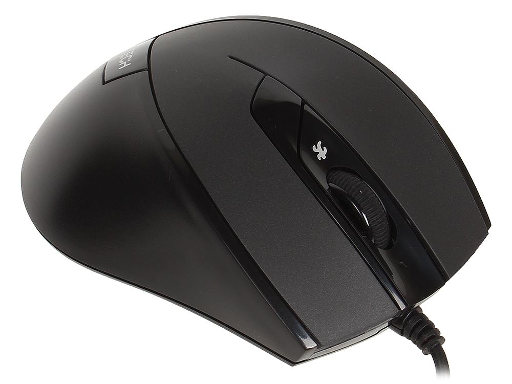 лучшая цена Мышь A4-Tech N-600X-1 USB (BLACK)