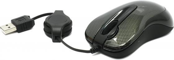 лучшая цена Мышь A4-Tech N-60F-2 USB (CARBON)