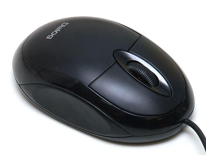 Мышь Dialog Pointer Optical MOP-00BU Black USB