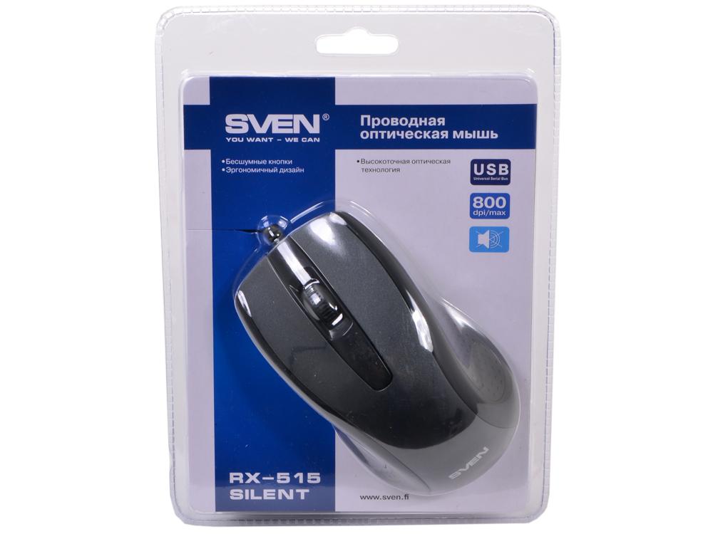 лучшая цена Мышь Sven RX-515 Silent