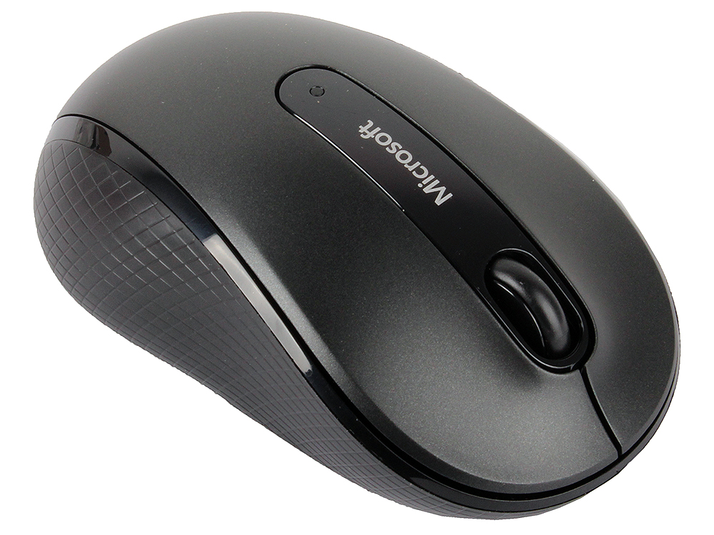 (D5D-00133) Мышь Microsoft Wireless Mobile Mouse 4000 USB Graphite Retail wireless 2 4ghz 800 1600 3200dpi usb optical mouse for mac windows