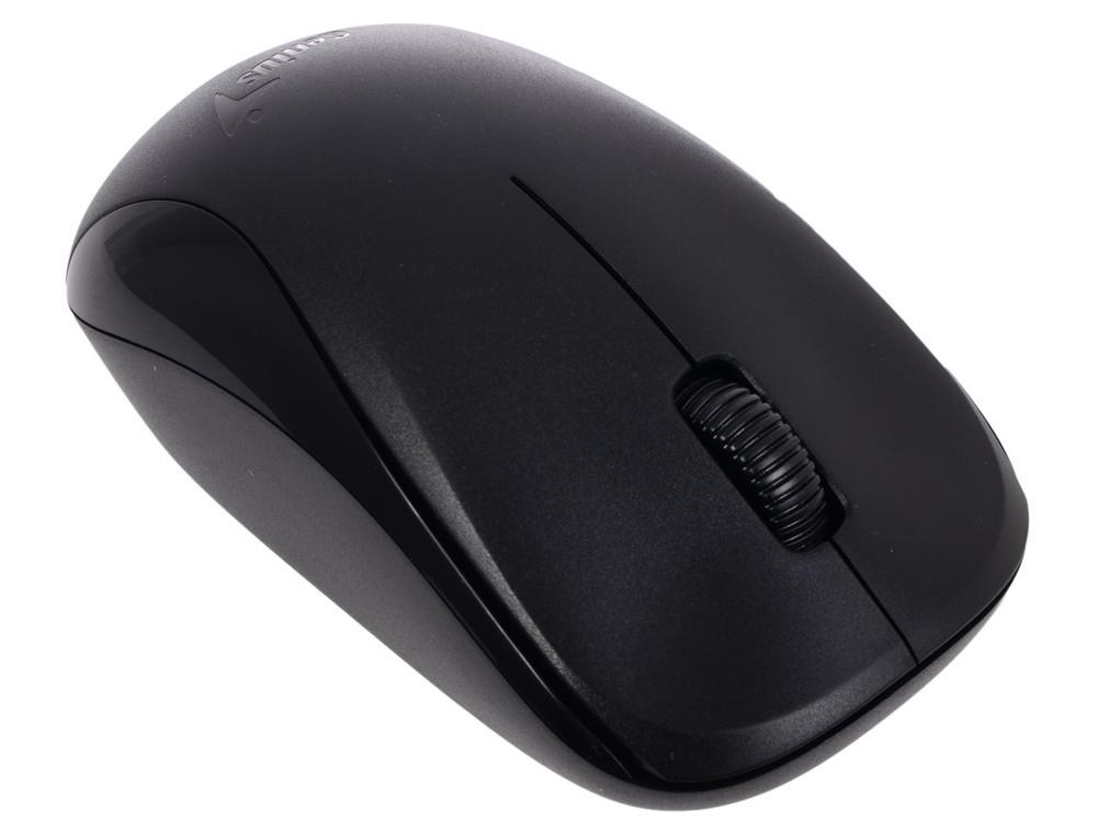 Мышь беспроводная Genius NX-7000 G5 Hanger Black USB(Radio) оптическая, 1200 dpi, 2 кнопки + колесо мышь genius nx 7015 usb rosy brown