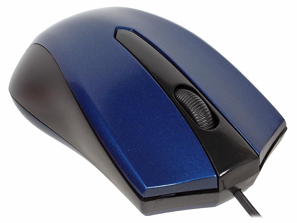 лучшая цена Проводная оптическая мышь Accura MM-950 синий,3 кнопки,1000dpi DEFENDER