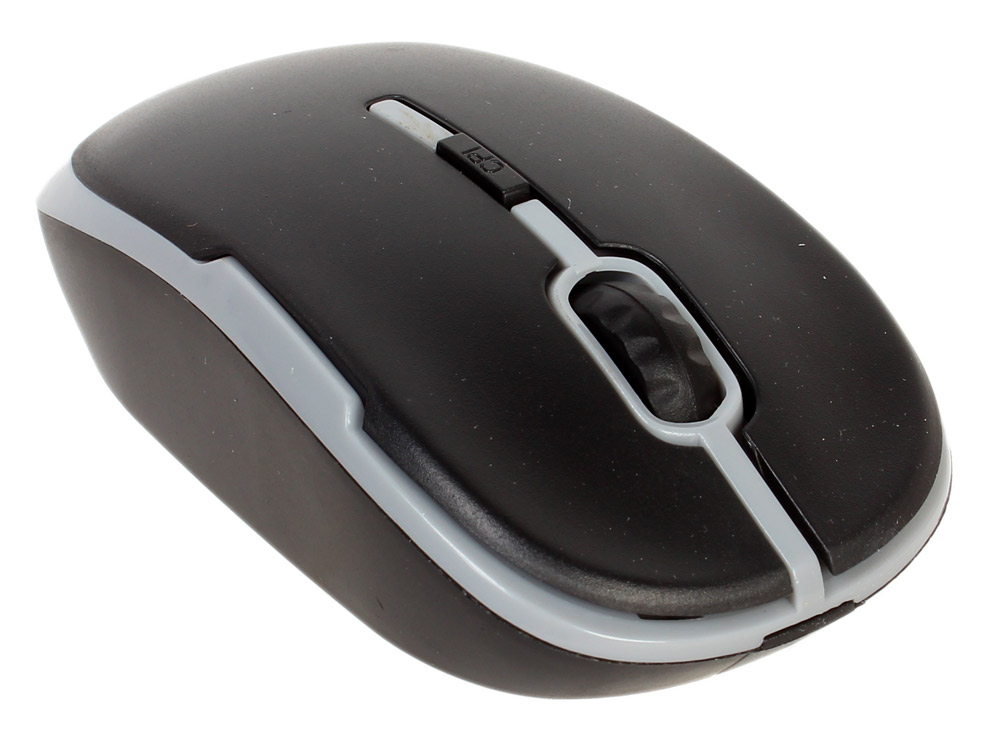 Мышь CBR CM-420 Grey, оптика, радио 2,4 Ггц, 1200 dpi, USB