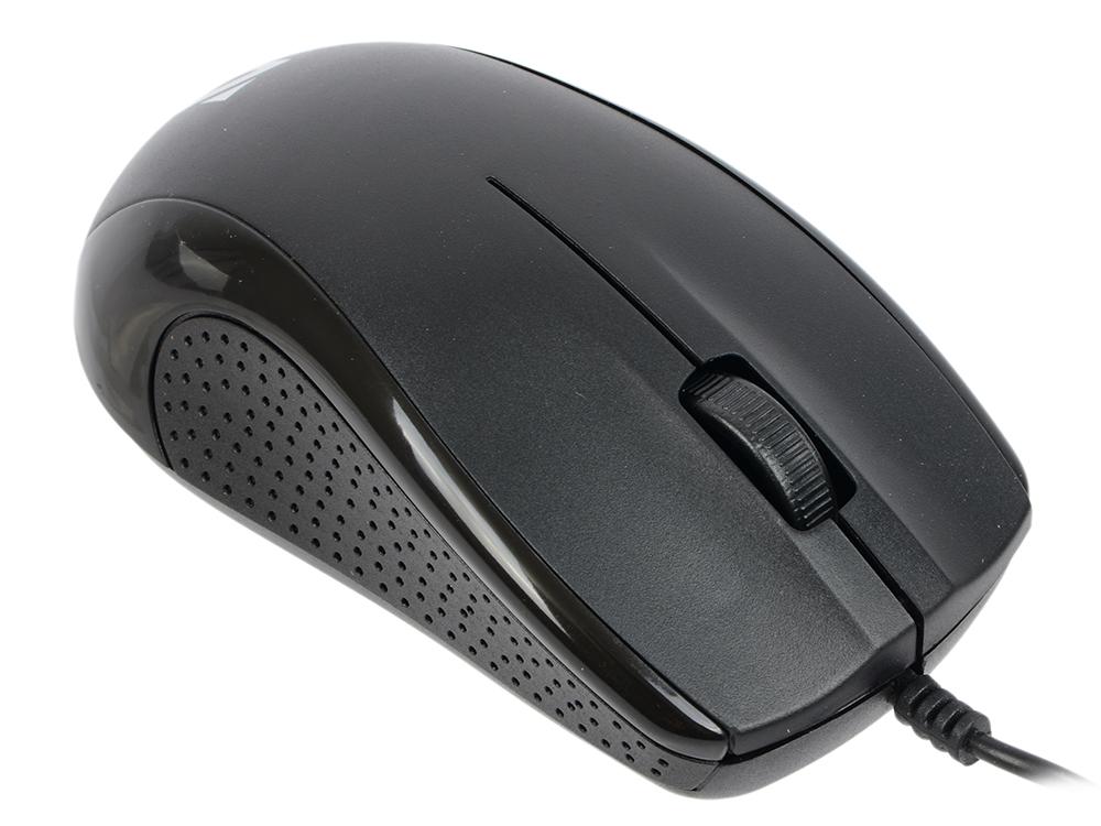 Проводная оптическая мышь DEFENDER Optimum MB-160 черный, 3 кнопки,1000 dpi, USB цена и фото
