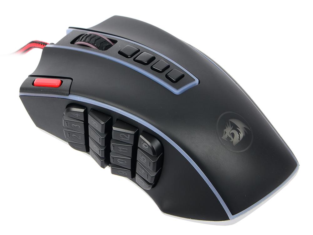 лучшая цена Мышь проводная DEFENDER Redragon Legend чёрный USB 70389