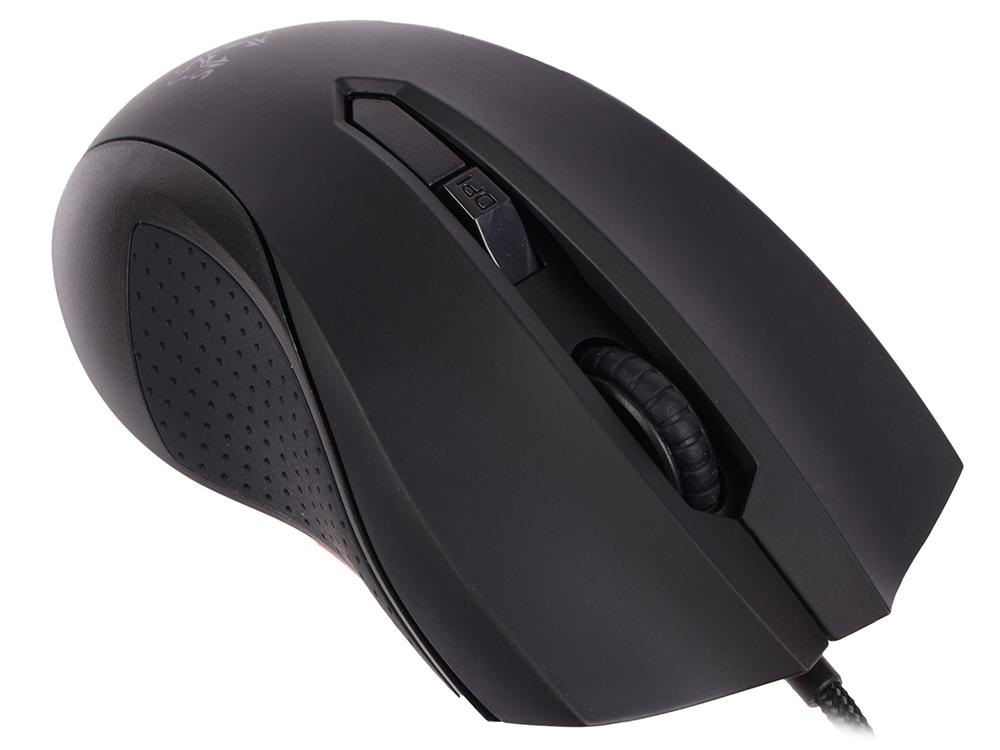 Мышь ASUS Cerberus Black USB проводная, 2500 dpi, 6 кнопок + колесо