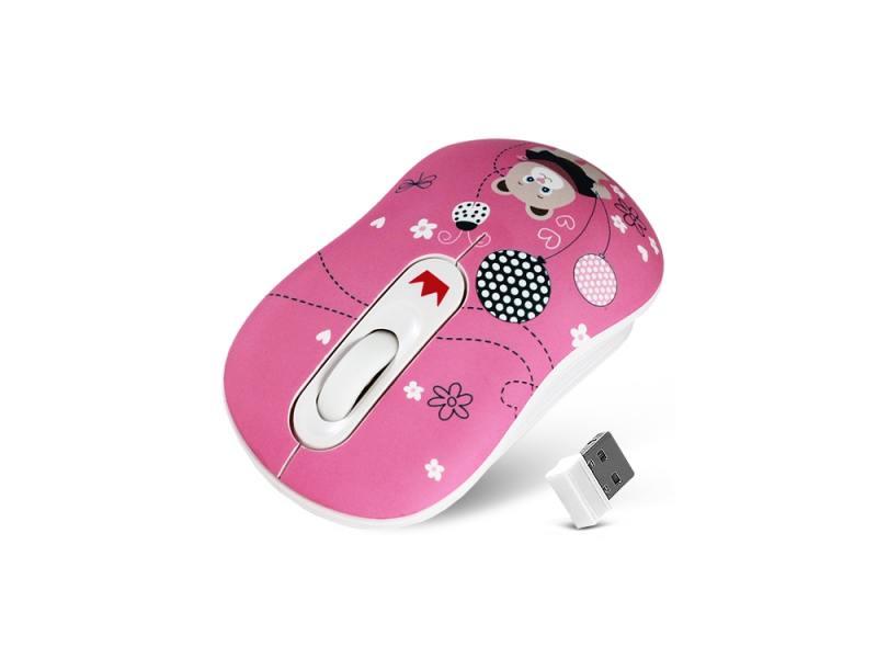 Мышь беспроводная CROWN CMM-928W bear USB
