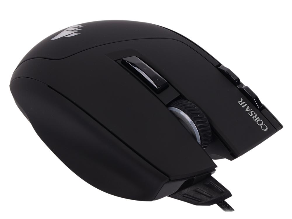 Мышь проводная Corsair Gaming Sabre RGB чёрный USB CH-9303011-EU цена и фото