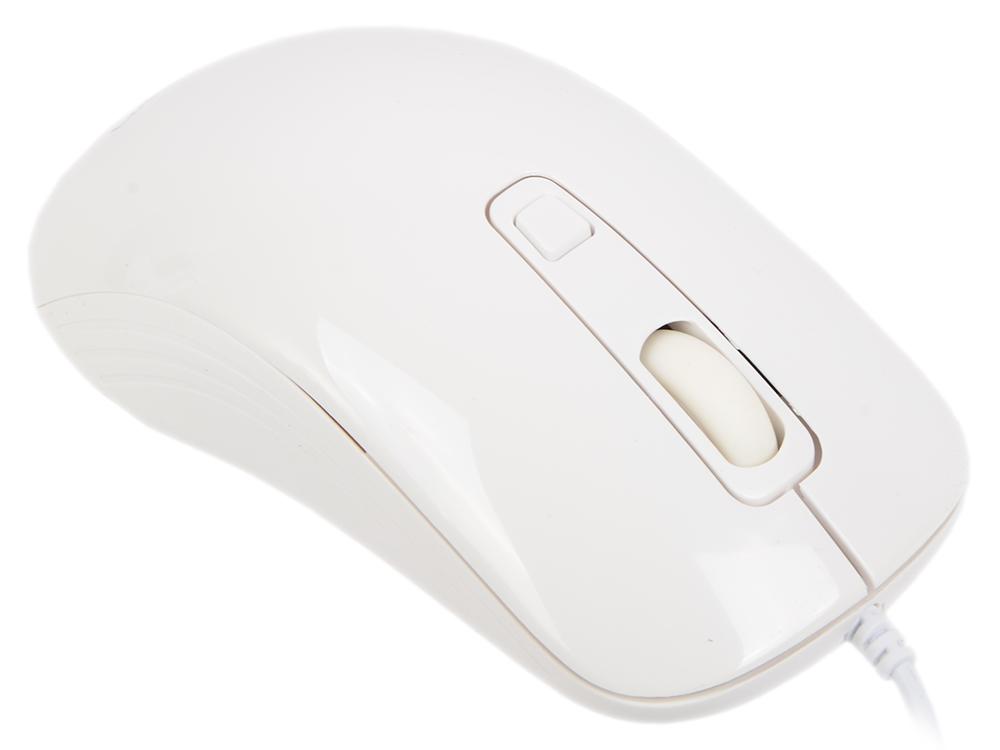 Мышь проводная Crown CMM-20 белый USB мышь беспроводная crown cmm 928w giraffe белый usb