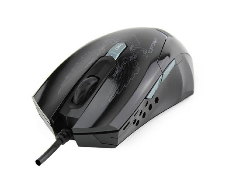 Мышь CROWN CMXG-1100 BLAZE USB crown cmccg 4415w