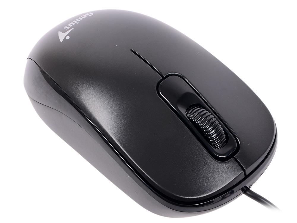 лучшая цена Мышь проводная Genius DX-110 чёрный USB