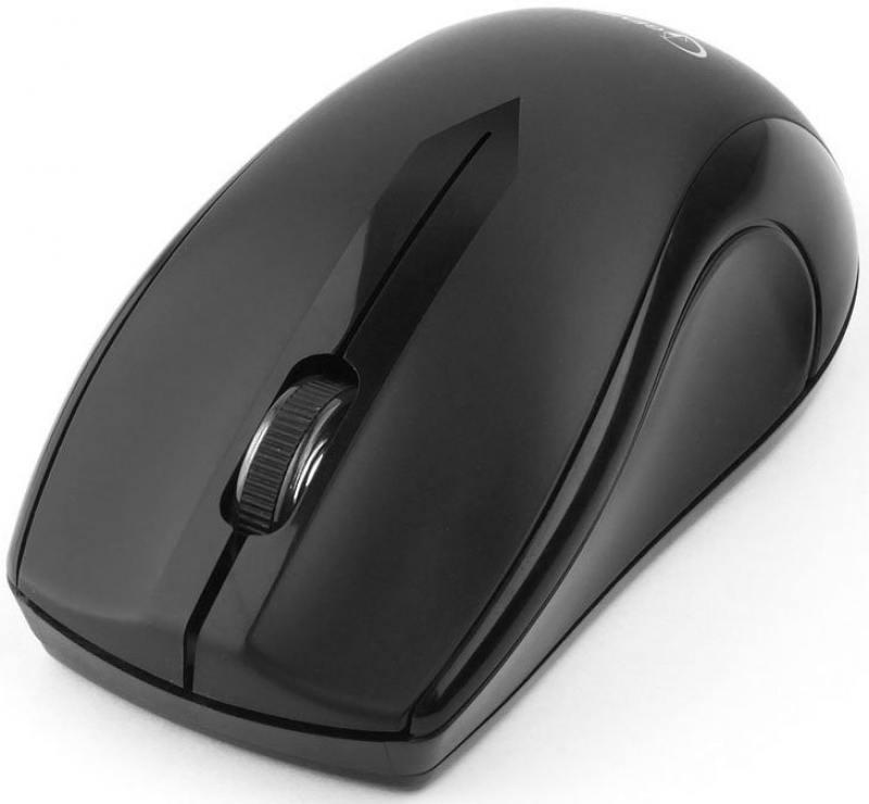 Мышь беспроводная Gembird MUSW-320 Black USB(Radio) оптическая, 1000 dpi, 3 кнопки + колесо цена