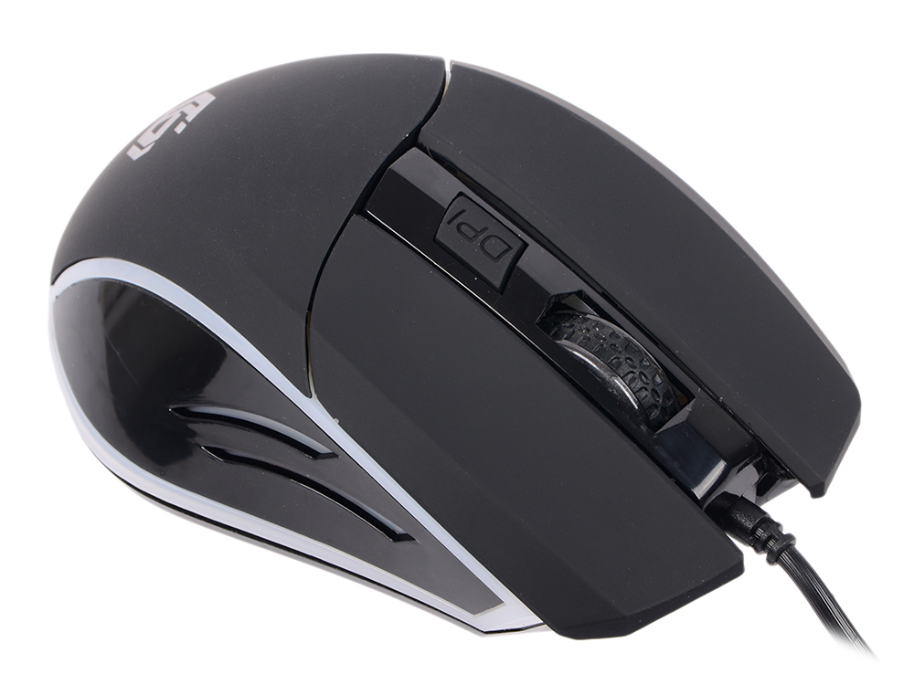 Мышь Gembird MG-500 Black USB проводная, оптическая, 1600 dpi, 6 кнопок + колесо