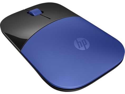 Мышь беспроводная HP Z3700 V0L81AA#ABB Blue USB оптическая, 1200 dpi, 3 кнопки + колесо мышь hp x1200 wired blue mouse h6f00aa abb