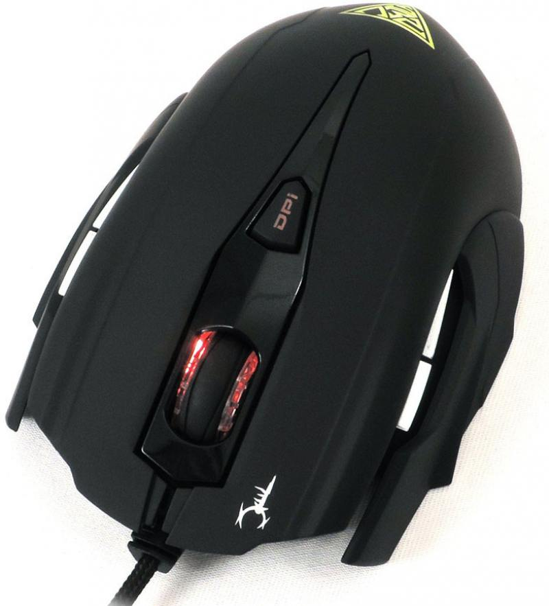Мышь GAMDIAS Hades Optical GMS7001 Black USB проводная, оптическая, 3200 dpi, 7 кнопок + колесо