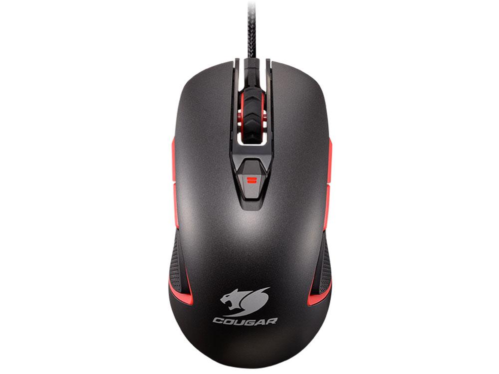 Игровая мышь COUGAR 400M Grey USB Оптическая, 4000 cpi , 8 кнопок + колесо мышь cougar minos x1 black usb