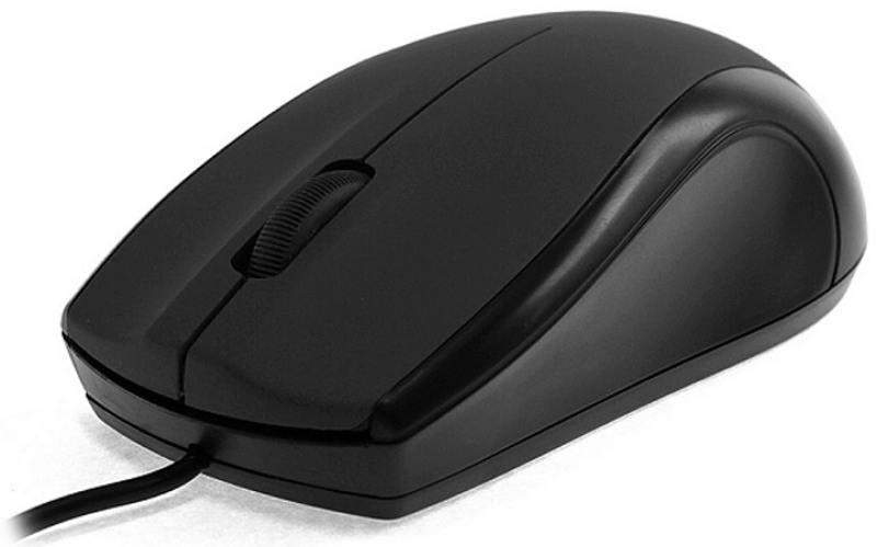 Мышь проводная Crown CMM-31 чёрный USB цена