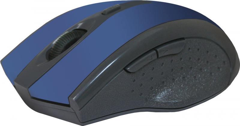 лучшая цена Мышь беспроводная Defender Accura MM-665 Blue USB оптическая, 1600 dpi, 5 кнопок + колесо