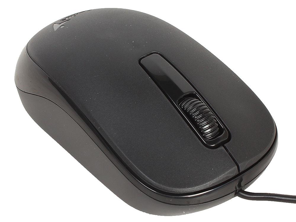 Мышь Genius DX-125 Black USB проводная, оптическая, 1000 dpi, 3 кнопки + колесо