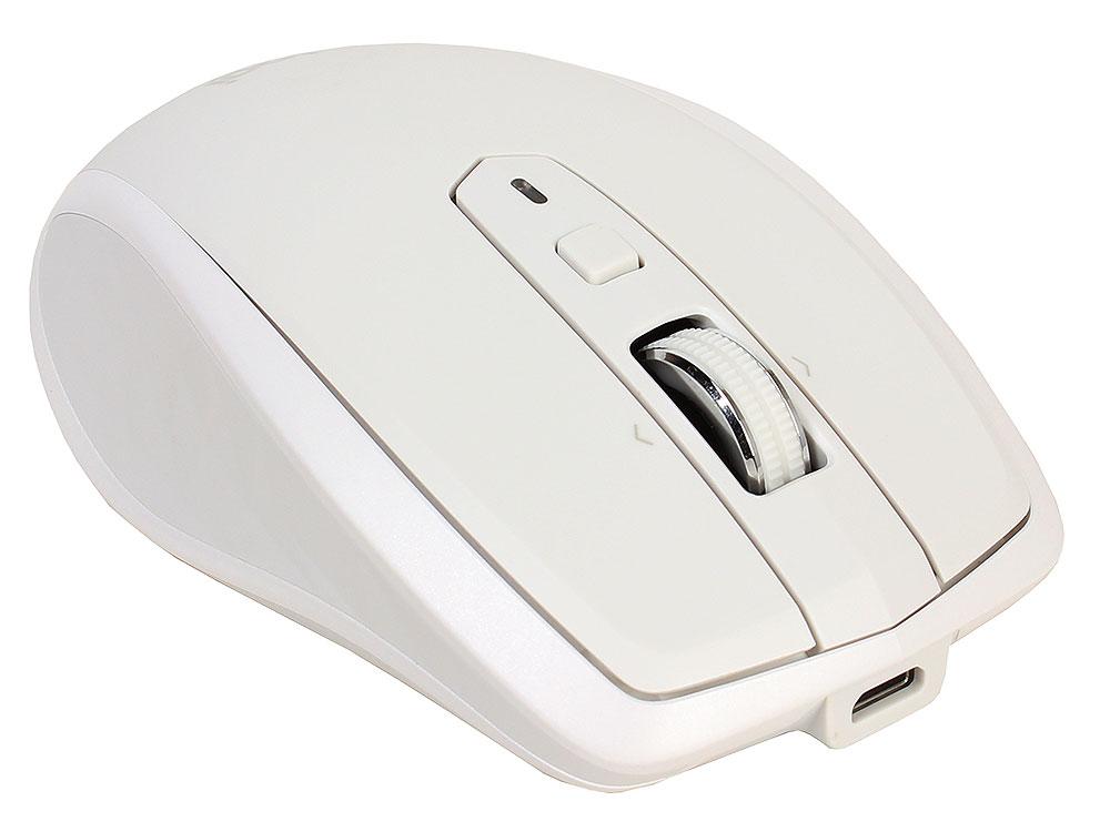 Мышь беспроводная Logitech MX Anywhere 2S Grey USB(Radio) оптическая, 4000 dpi, 5 кнопок + колесо мышь беспроводная hp 200 silk золотистый чёрный usb 2hu83aa