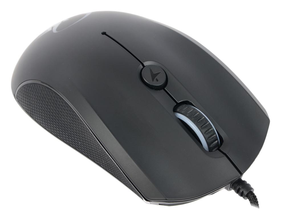 Мышь Genius Scorpion M6-400 Black USB проводная, оптическая, 5000 dpi, 4 кнопки + колесо клавиатура genius scorpion k9 usb black