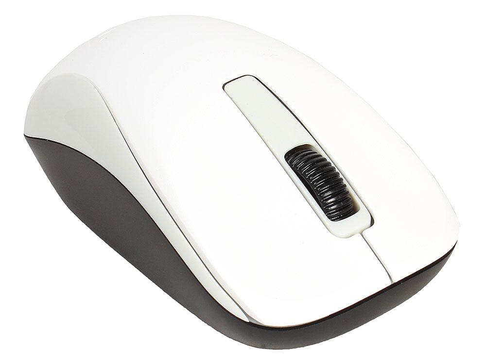 Мышь беспроводная Genius NX-7005 White USB оптическая, 1200 dpi, 2 кнопки + колесо мышь беспроводная hp z3700 v0l80aa abb white usb оптическая 1200 dpi 3 кнопки колесо