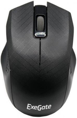 Мышь ExeGate SH-9027 Black USB проводная, оптическая, 1000 dpi, 2 кнопки + колесо