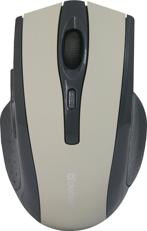 лучшая цена Мышь беспроводная Defender Accura MM-665 Grey USB оптическая, 1600 dpi, 5 кнопок + колесо