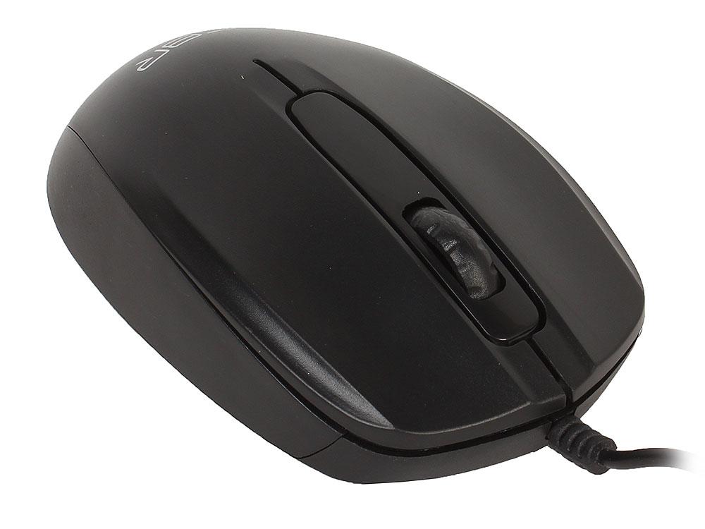 лучшая цена Мышь CBR CM 117 Black, USB, проводная, оптическая, 1200 dpi, 2 кнопки + колесо
