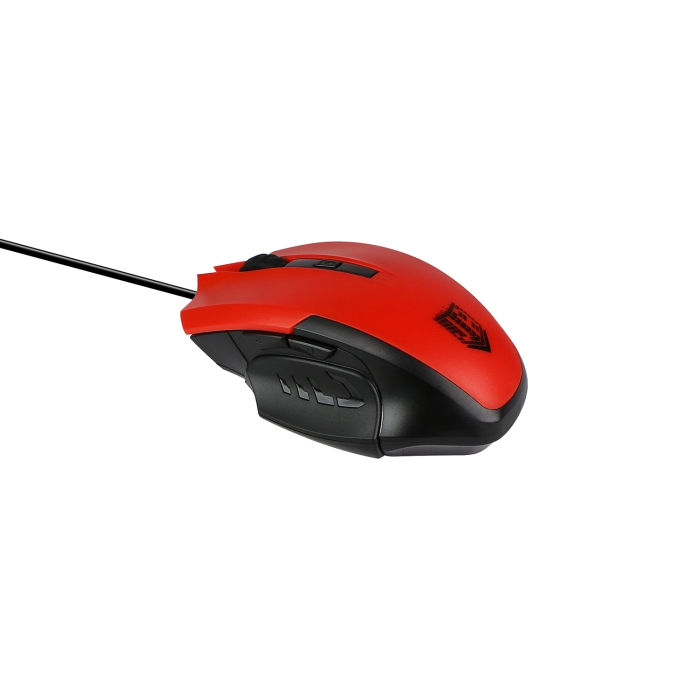 Мышь Jet.A Comfort OM-U54 Black Red USB проводная, оптическая, 2400 dpi, 5 кнопок + колесо цена в Москве и Питере