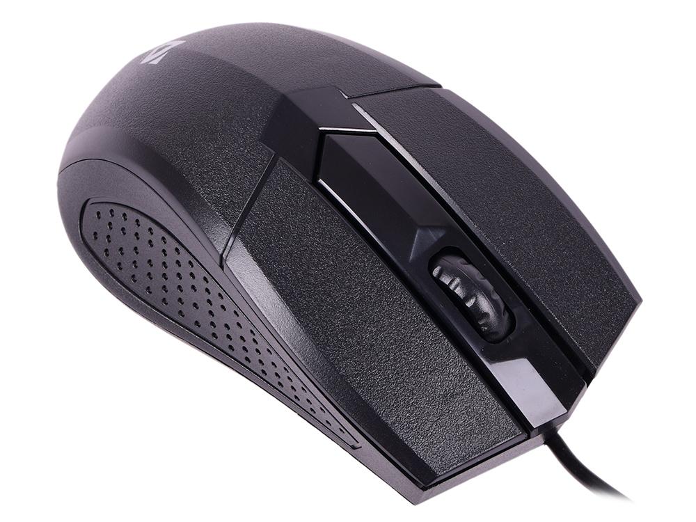 цена на Мышь Defender Optimum MB-270 Black USB проводная, оптическая, 1000 dpi, 2 кнопки + колесо