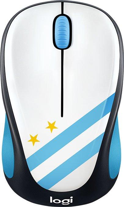 Мышь беспроводная Logitech M238 Argentina USB оптическая, 1000 dpi, 3 кнопки + колесо мышь беспроводная hp z3700 v0l80aa abb white usb оптическая 1200 dpi 3 кнопки колесо