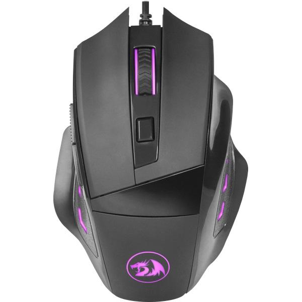 Мышь Redragon Phaser Black USB оптическая, 3200 dpi, 5 кнопок + колесо