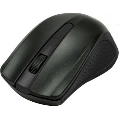Фото - Мышь беспроводная Ritmix RMW-555 Black USB оптическая, 1000 dpi, 2 кнопки + колесо мышь беспроводная gembird musw 325 черный 2кнопоки колесо кнопка 2 4ггц 1000 dpi