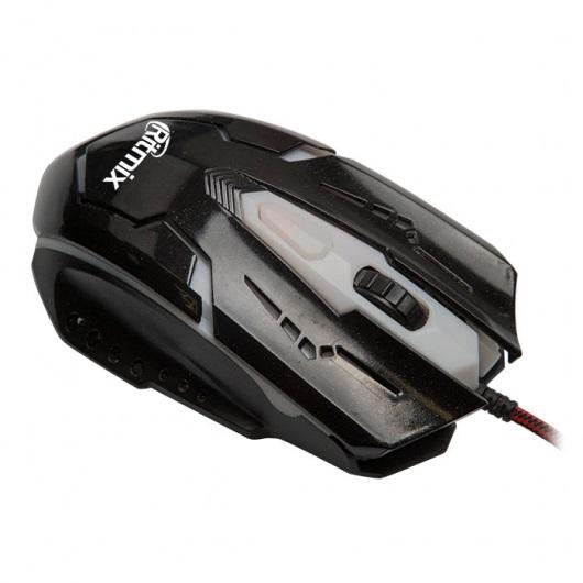 Мышь Ritmix ROM-311 Black USB проводная, оптическая, 2400 dpi, 3 кнопки + колесо