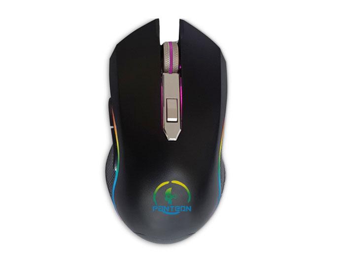 Мышь Jet.A Panteon MS60 Black USB проводная, оптическая, 2750 dpi, 6 кнопок + колесо
