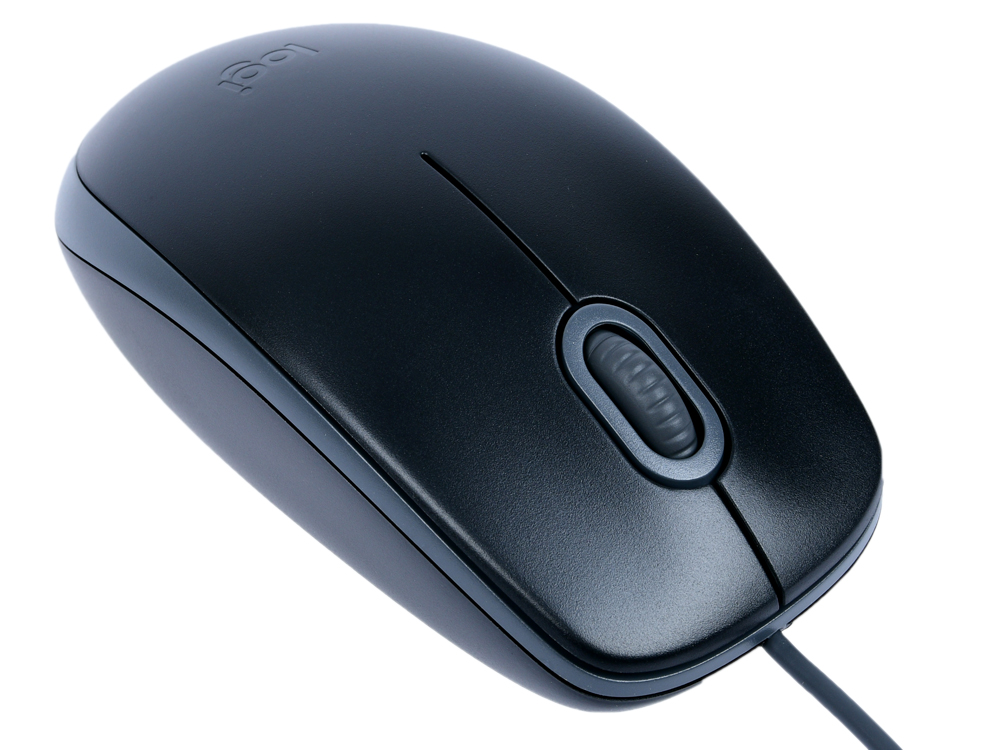 Мышь Logitech Wireless Mouse B110 (910-005508) SILENT Black проводная, оптическая, 1000 dpi, 2 кнопки + колесо мышь logitech b110 silent optical mouse black usb 910 005508