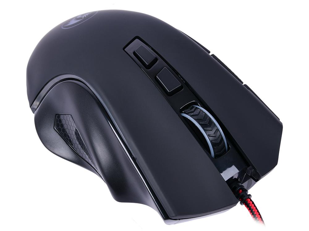 Мышь Griffin RGB Redragon Black USB проводная, оптическая, 7200 dpi, 8 кнопок + колесо цена и фото