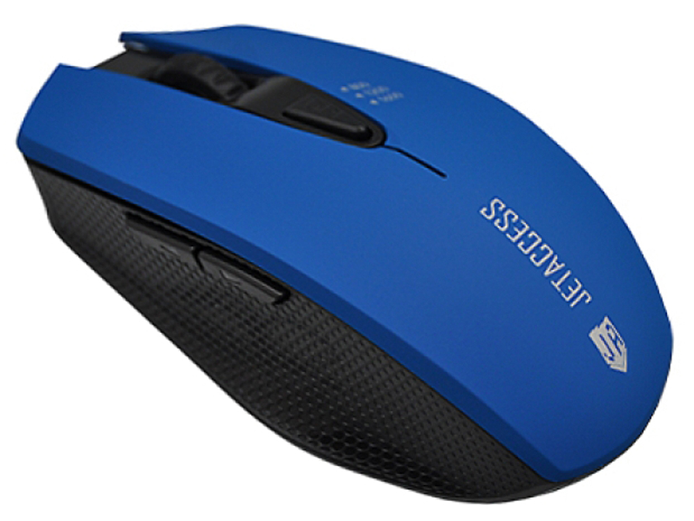 Мышь беспроводная Jet.A Comfort OM-U60G Blue USB оптическая, 1600 dpi, 5 кнопок + колесо мышь беспроводная jet a comfort om u36g чёрный usb
